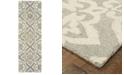 "Oriental Weavers Craft 93004 Gray/Sand 2'6"" x 8' Runner Area Rug"