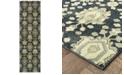 "Oriental Weavers Raleigh 533Q5 Navy/Ivory 2'3"" x 7'6"" Runner Area Rug"