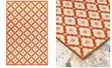 "Liora Manne' Riviera 7635 Modern Tile 7'10"" Indoor/Outdoor Square Area Rug"