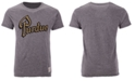 Retro Brand Men's Purdue Boilermakers Retro Logo Tri-blend T-Shirt