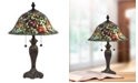 Dale Tiffany Rose Collage Tiffany Table Lamp