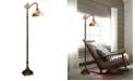 Dale Tiffany Rose Dome Downbridge Floor Lamp