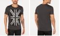 GUESS Men's Studded Flag T-Shirt