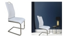 New Spec Inc New Spec Modern U-Shape Dining Chair Set of 4 Pieces
