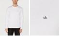 Calvin Klein Men's Solid Supima Cotton Sweater