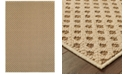 "Oriental Weavers CLOSEOUT!  Santa Rosa 5991D Brown/Sand 5'3"" x 7'6"" Indoor/Outdoor Area Rug"