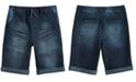 Epic Threads Big Boys Moto Denim Shorts, Created for Macy's