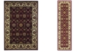 Kas Cambridge Floral Agra 7306 Red/Ivory Area Rug