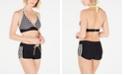 GO by Gossip Cross Training Halter Bikini Top & Swim Shorts