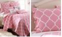 Levtex Home Gianna Pink Quilt Set