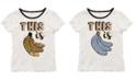 Beautees Big Girls Reversible Sequin T-Shirt