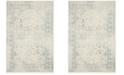 Safavieh Adirondack Ivory and Slate 4' x 6' Area Rug