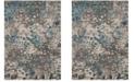 Safavieh Monaco Gray and Light Blue 8' x 11' Area Rug