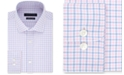 Tommy Hilfiger Men's TH Flex Fitted Non-Iron Stretch Check Dress Shirt
