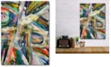 """Courtside Market Abstract Colors Gallery-Wrapped Canvas Wall Art - 12"""" x 18"""""""