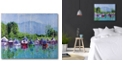 """Courtside Market Break Time Gallery-Wrapped Canvas Wall Art - 16"""" x 20"""""""