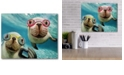 """Courtside Market Underwater Selsea Gallery-Wrapped Canvas Wall Art - 16"""" x 20"""""""