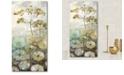 "Courtside Market Golden flower II Gallery-Wrapped Canvas Wall Art - 14"" x 28"""