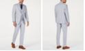 Tommy Hilfiger Men's Modern-Fit THFlex Stretch Light Gray Chambray Suit Separates