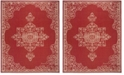 Safavieh Linden Red and Creme 9' x 12' Area Rug