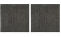"""Safavieh Athens Dark Gray 6'7"""" x 6'7"""" Square Area Rug"""