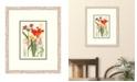 """Melissa Van Hise Cottage Flowers V Framed Giclee Wall Art - 21"""" x 25"""" x 2"""""""
