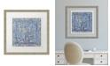 "Melissa Van Hise Colorful Tiles II Framed Giclee Wall Art - 28"" x 28"" x 2"""