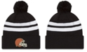 New Era Cleveland Browns Chase Pom Knit Hat