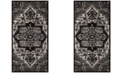 "Safavieh Vintage Hamadan Light Gray and Gray 2'7"" x 5' Area Rug"