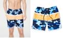 "Club Room Men's Colorblocked Camo 7"" Swim Trunks, Created for Macy's"
