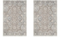 Safavieh Patina Taupe and Blue 4' x 6' Area Rug