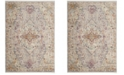 Safavieh Illusion Lilac and Light Gray 6' x 9' Area Rug