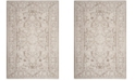 "Safavieh Reflection Beige and Cream 6'7"" x 6'7"" Square Area Rug"