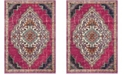 Safavieh Monaco Pink and Multi 9' x 12' Area Rug