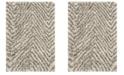 Safavieh Hudson Ivory and Gray 3' x 5' Area Rug