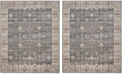 Safavieh Valencia Dark Gray and Light Gray 9' x 12' Area Rug