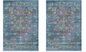 Safavieh Valencia Blue and Multi 6' x 9' Area Rug