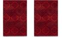Safavieh Tunisia Red and Orange 3' x 5' Area Rug