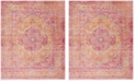 Safavieh Windsor Gold and Fuchsia 8' x 10' Area Rug