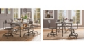 Acme Furniture Jonquil Side Dining Chair with Swivel (Set of 2)