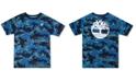 Timberland Big Boys Woodridge Camouflage Logo T-Shirt