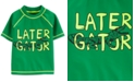 Carter's Toddler Boys Later Gator Rash Guard