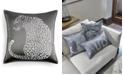 "Home Design Studio CLOSEOUT! Leopard 18"" x 18"" Decorative Pillow"