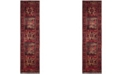 """Safavieh Vintage Hamadan Red and Multi 2'2"""" x 12' Runner Area Rug"""