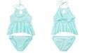 Summer Crush Big Girls 2-Pc. Halter Top Bikini