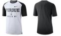 Nike Men's Purdue Boilermakers Vault Raglan T-Shirt