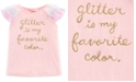 Carter's Toddler Girls Ruffle-Sleeve T-Shirt