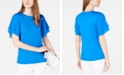 Michael Kors Flutter-Sleeve Top, Regular & Petite Sizes