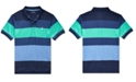 Polo Ralph Lauren Big Boys Striped Stretch Performance Lisle Polo Shirt