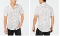 GUESS Men's Floral Mesh Shirt
